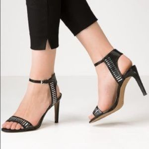French connection Ankle Strap Heel